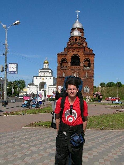 01 Троицкая церковь (1913–1916) и Золотые ворота (1158–1164)