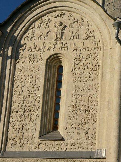 35. Барельефы Дмитриевского собора