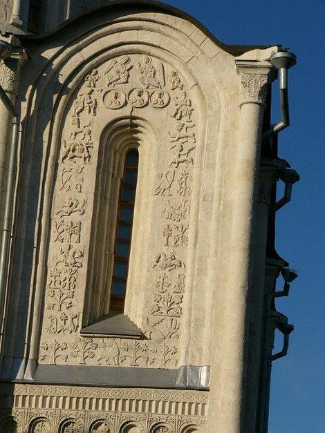 37. Барельефы Дмитриевского собора