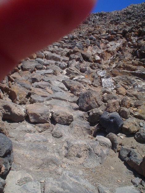 Дорога к кратеру