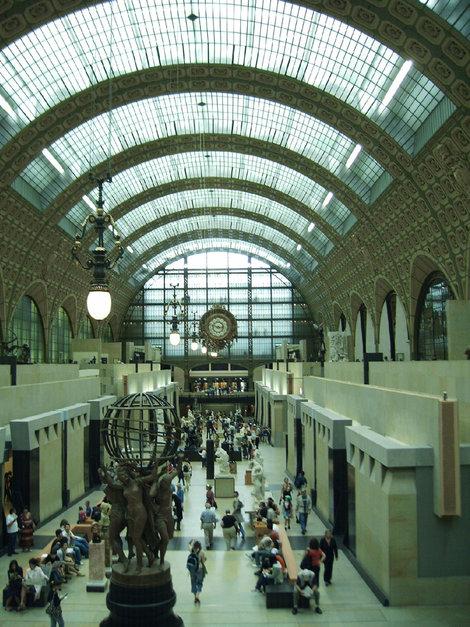 Музей Орсэ в здании бывшего вокзала