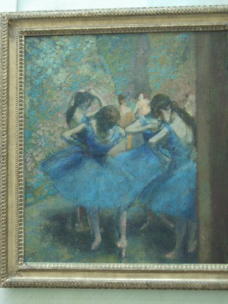 Танцовщицы Дега