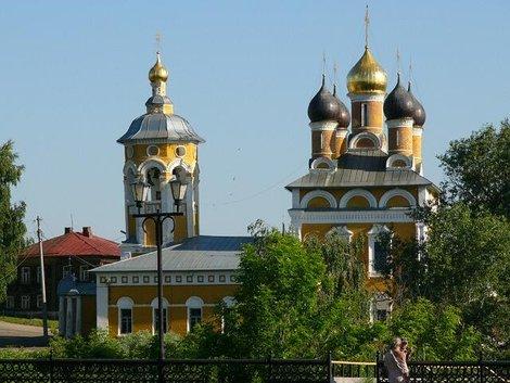 29. Николо-Набережная церковь. Построена в 1700-1717 гг