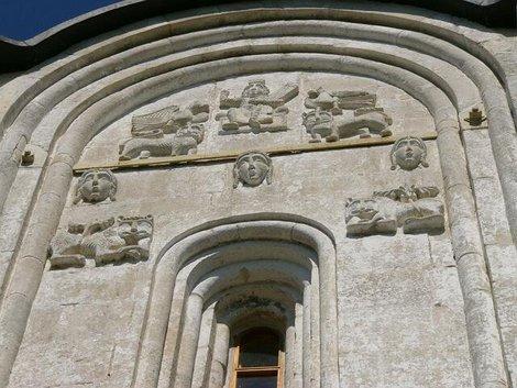 63. Барельефы Церкви Покрова-на-Нерли