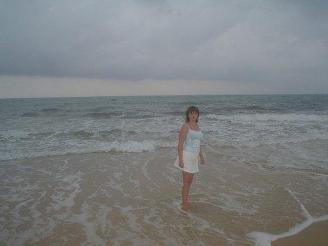 «Здесь был Вася». Не, я честно была на море.