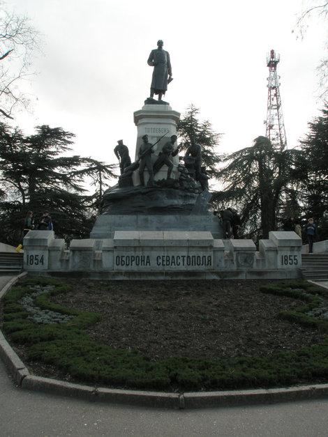 памятник тотлебину