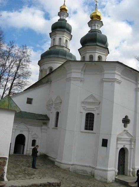 Ильинская церковь над Антониевыми пещерами