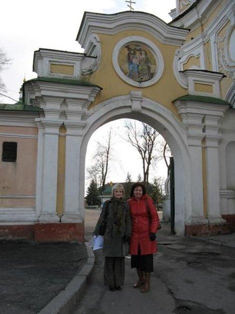 Ворота возле Троицкого собора