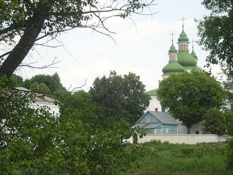 Монастырь в Даневке