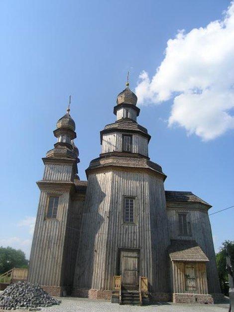 Георгиевская церковь в Седневе