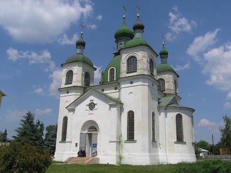 Николаевская церковь в Козельце
