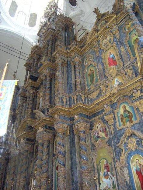 Иконостас собора в Козельце
