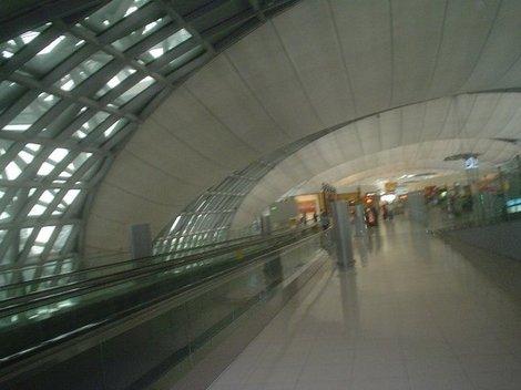 Аэропорт Бангкока. Зал прилета.