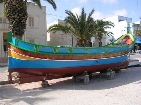 Лодка на просушке