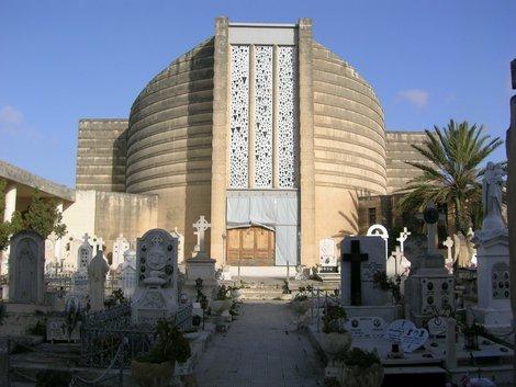 Современная церковь в Паоле по соседству с Таршином
