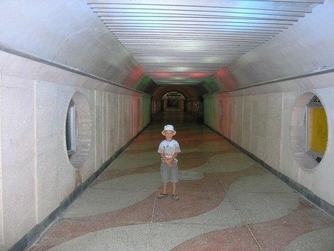 Партенит. Тоннель в военном санатории