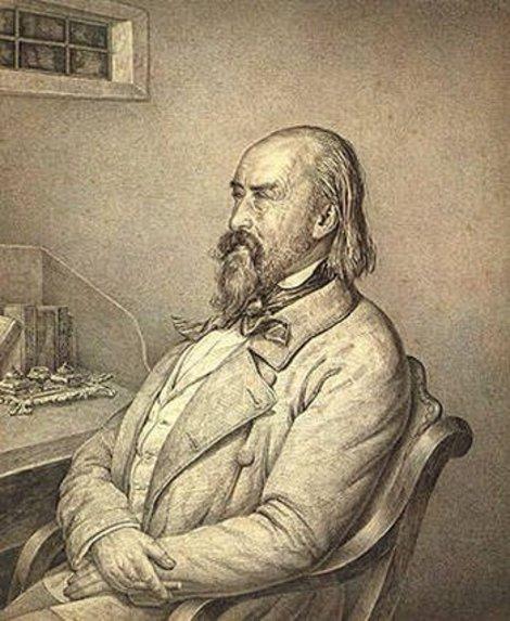 Сергей Волконский в преклонном возрасте