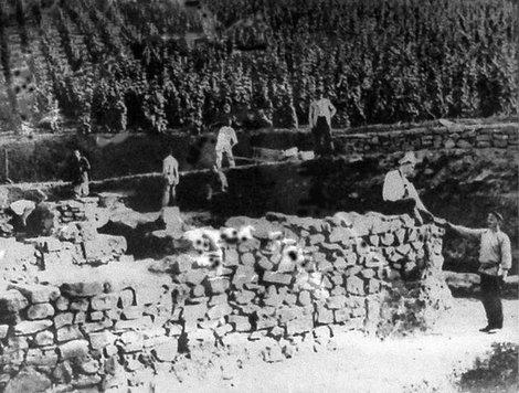 Раскопки Партенитской базилики