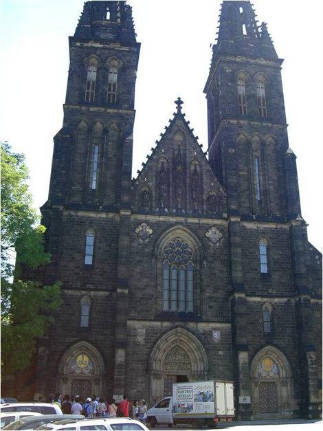 Костел Св. Петра и Павла в Вышеграде