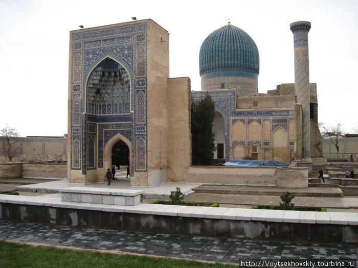 Самарканд гробница тамерлана фото