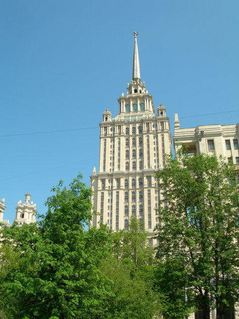 интерьера владелец гостиницы украина в москве фото нижних этажа облицованы